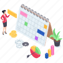 business management, project management, project plan, work management, work planning icon