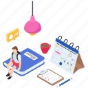 elearning, online education, online learning, online study, online tution icon
