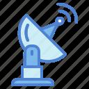 antenna, dishes, parabolic, satellite, signal icon