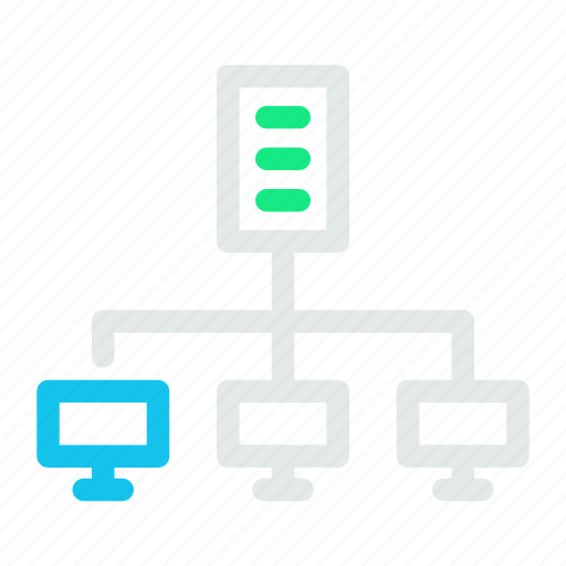 connection, data, internet, network icon