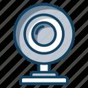 cam, camera, computer cam, live webcam, video calling, webcam icon