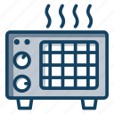 appliance, electric convertor, electric heater, electric warmer, electronics icon