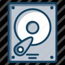 disc player, hard disk, hard drive, hardware, hdd, storage device icon