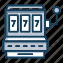 casino, coin machine, gambling, gaming machine, slot machine, vending machine icon