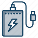 charging device, electronic device, hardware, portable device, power bank, usb icon