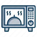 electronics, firebox, kitchen appliance, kitchenware, microwave oven icon