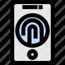 technology, gadget, web, sensor, phone, fingerprint