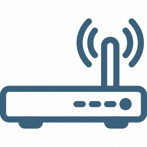 connection, internet, network, online, router, wifi, wireless icon