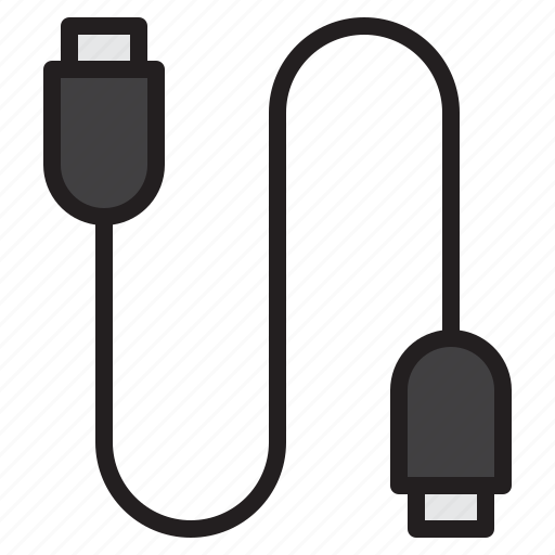 cable, communication, computer, internet, network icon