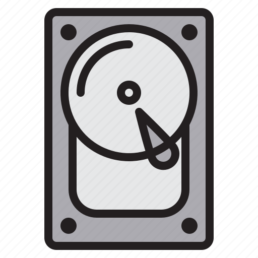 communication, computer, harddisk, internet, network icon