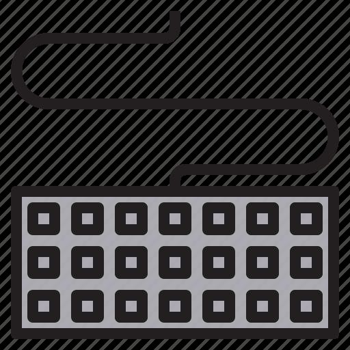 communication, computer, internet, keyboard, network icon