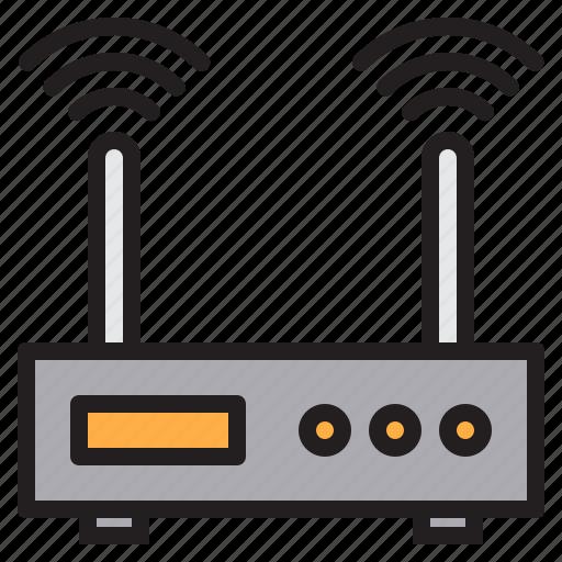 communication, computer, internet, network, wifi icon