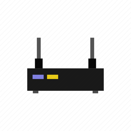 device, gadget, office, router, technology icon