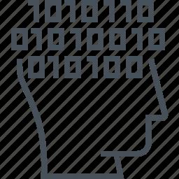 code, coder, program, programmer icon