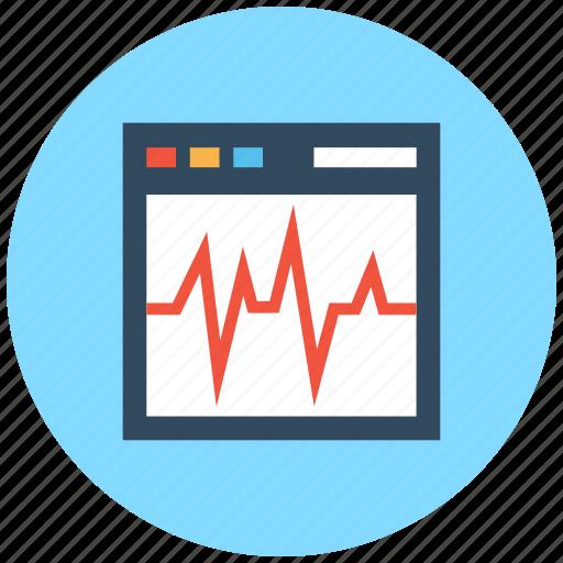 digital marketing, online graph, seo analytics, statistical chart, website graph icon