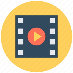 media player, multimedia, music player, video, video player icon