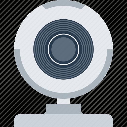 camera, communication, digital, stream, video, web, webcam icon
