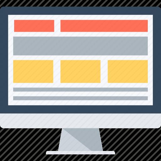 adaptive, computer, desktop, device, monitor, pc, responsive icon