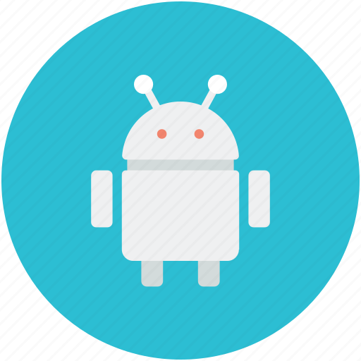 Android robot, auto man, mechanical man, robot icon - Download on Iconfinder