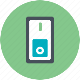 click-clack, electricity, light switch, off, on, power control icon