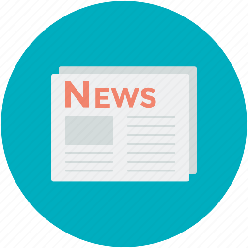 gazette, journal, newspaper, press, publication icon