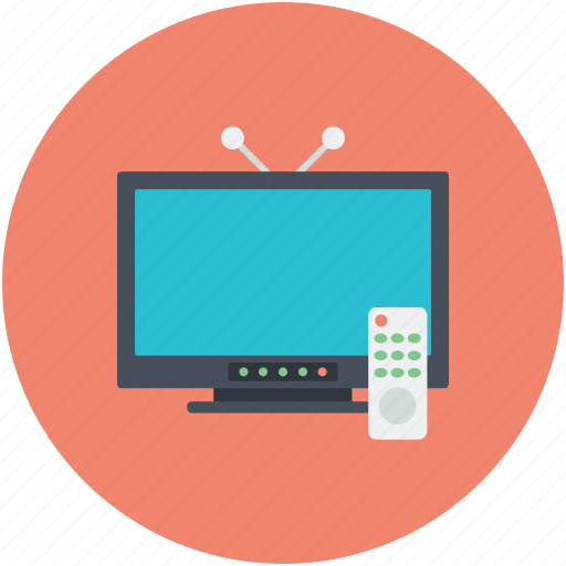 ariel, display screen, monitor, television set, tv set icon