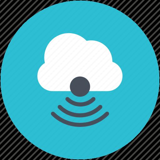 cloud network, wifi, wireless fidelity, wireless network, wireless technology icon