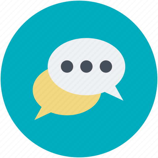 chat, chatting, chitchat, conversation, talk icon