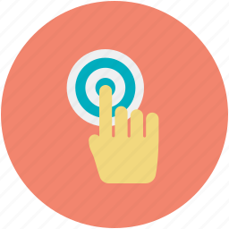 click touch screen, clicking, finger touch, hand gesture, hand touch icon