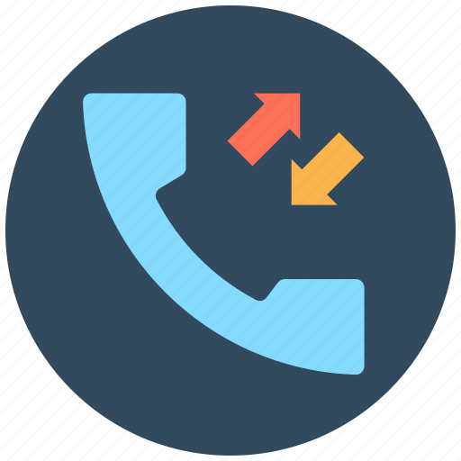 call received, calling, phone call, phone receiver, receiver icon