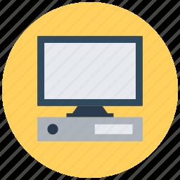computer, desktop, home computer, pc, personal computer icon