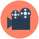 camera, film recorder, movie camera, movie shoot, shoot, shooting icon