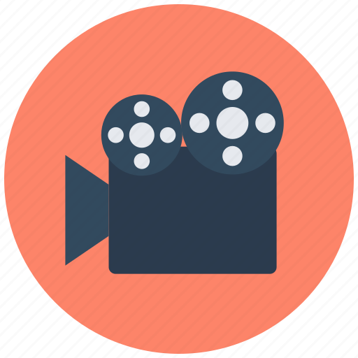 camera, film recorder, movie camera, movie shoot, shoot, shooting icon