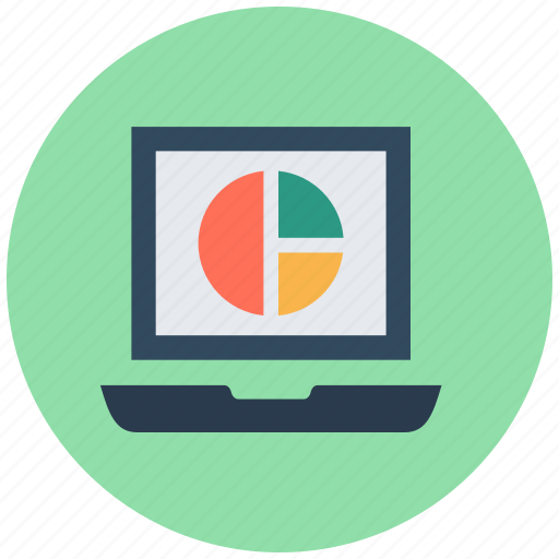 infographic, online analytics, online graph, pie chart, pie graph icon