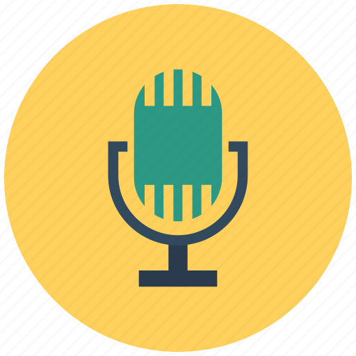audio, communication, mic, microphone, music, recording, sound, speak, speech icon