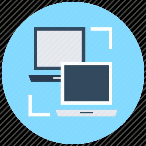 data exchanging, data sharing, pc share, sharing, wireless sharing icon