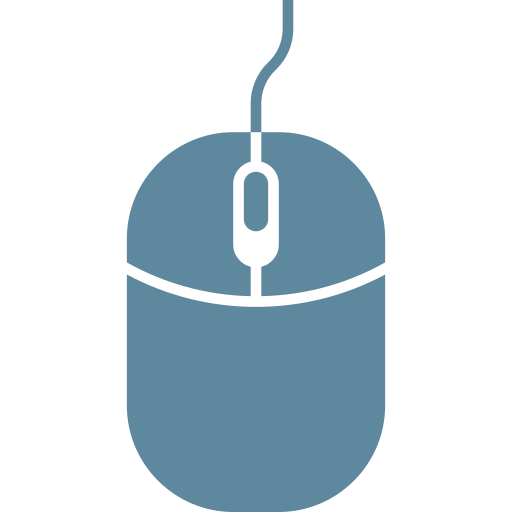 click, computer, device, hardware, input, mouse, tool icon