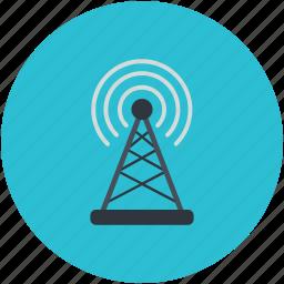 internet, tower signals, wifi internet, wifi signal, wifi tower icon