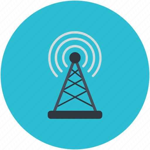 Internet, tower signals, wifi internet, wifi signal, wifi tower icon - Download on Iconfinder