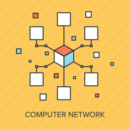 communication, computer, connection, internet, link, media, network icon