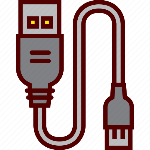 cable, charger, connection, data, energy, usb icon