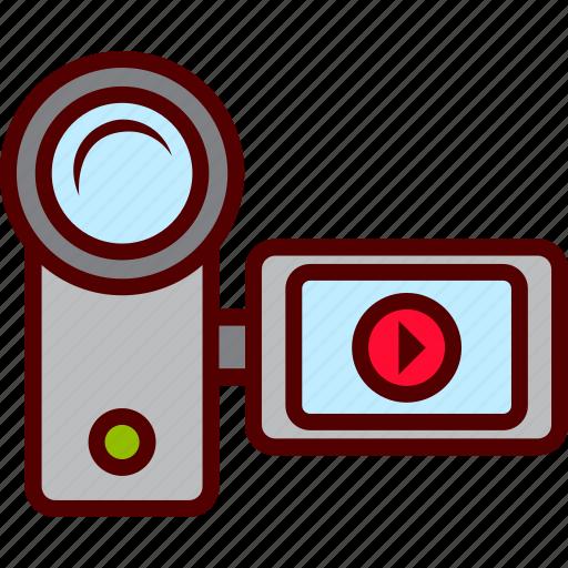 camera, film, handy, video icon