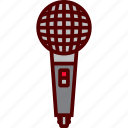 audio, mic, microphone, record, sound, wireless icon