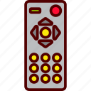 control, remote, television, universal, wireless icon