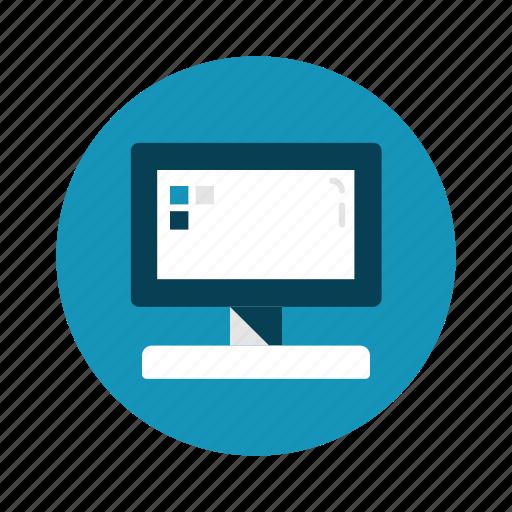 computer, desktop, gadget, imac, technology icon