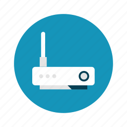 network, router, technology, wifi icon