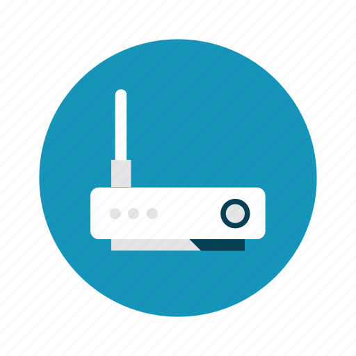 Router, wifi, technology, network icon