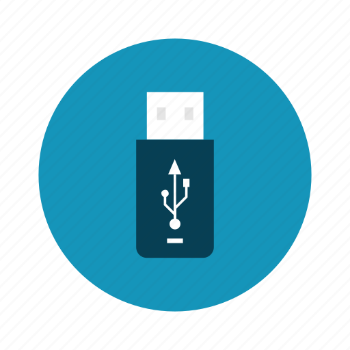 data, drive, flash, technology, transfer, usb icon