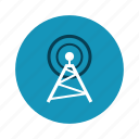 network, technology, tower, wifi icon