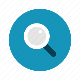 magnifier, magnify, search, technology icon